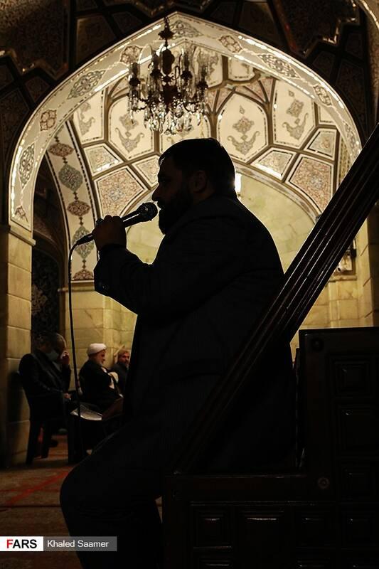 عزاداری شب شهادت حضرت زهرا(س) در حرم حضرت رقیه(س)