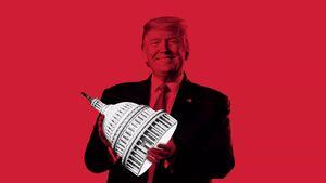 ترامپ در فکر انتقامجویی از جمهوریخواهان / حزب جمهوریخواه در آستانه یک جنگ درون جناحی سخت قرار دارد
