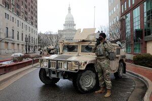 عکس/ خیابانهای مسدود شده واشنگتن