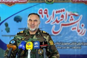 فرمانده نیروی زمینی ارتش امیر سرتیپ کیومرث حیدری