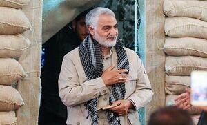 فیلم/ توصیف شهید حسین بادپا توسط حاج قاسم