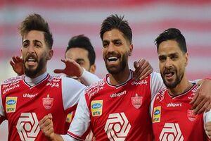 پیروزی پرسپولیس مقابل فولاد بعد از ۴ مساوی +فیلم و جدول