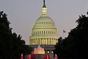 ساختمان کنگره آمریکا تعطیل شد
