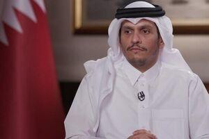 وزیر امور خارجه قطر - کراپشده