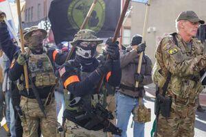 تجمع مسلحانه در اطراف کنگره ایالت ویرجینیا