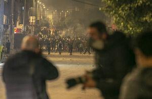 عکس/ تداوم اعتراضات مردمی در تونس