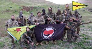 همپیمانان «قسد» در سوریه چگونه سر از کنگره درآوردند؟ / جولان دشمنان اردوغان در قلب آمریکا +عکس