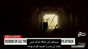 تصاویر جدید از لحظه برخورد موشکهای سپاه به پایگاه عین الاسد