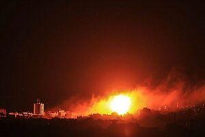 انفجار یک تانکر حامل نفت خام در حمص سوریه