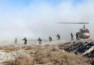 اخبار رزمایش|اجرای عملیات تاخت در نوار ساحلی مکران توسط تیپ ۲۲۳ نیرو مخصوص نزاجا