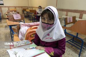 عکس/ بازگشایی مدارس ابتدایی در تبریز