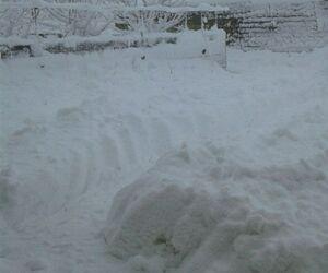 بارش فوق سنگین برف روستای اورسی ارومیه