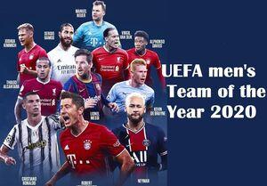 تیم منتخب یوفا در سال ۲۰۲۰ +عکس