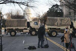 عکس/ واشنگتن ساعاتی پیش از تحلیف بایدن