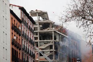 فیلم/ لحظه انفجار شدید در مادرید