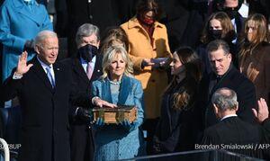 ادای سوگند بایدن به عنوان چهل و ششمین رییس جمهوری آمریکا