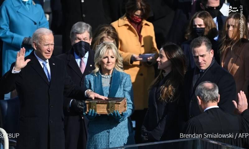 جو بایدن بعنوان چهل و ششمین رئیس جمهور ایالات متحده آمریکا سوگند یاد کرد