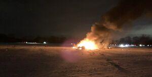 سقوط بالگرد نظامی در نیویورک؛ سه نفر کشته شدند