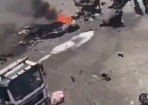 انفجار انتحاری در مرکز بغداد دهها کشته و زخمی برجای گذاشت +عکس و فیلم