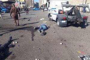 عکس/ اجساد قربانیان انفجار در بغداد