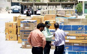 کشف خودرویی با ۴۰۰ میلیون بار قاچاق در تهران