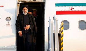 آیت الله رئیسی وارد فرودگاه بین المللی شهدای شاهرود شد