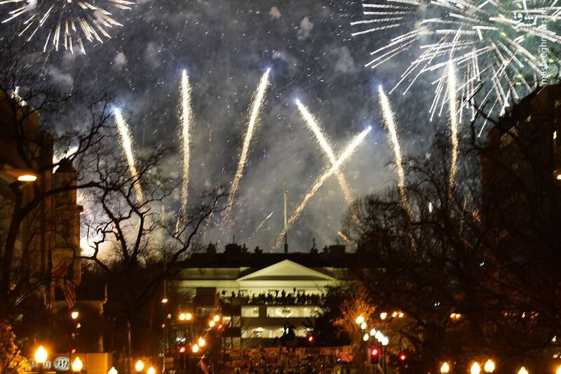 آتش بازی شبانه در کاخ سفید