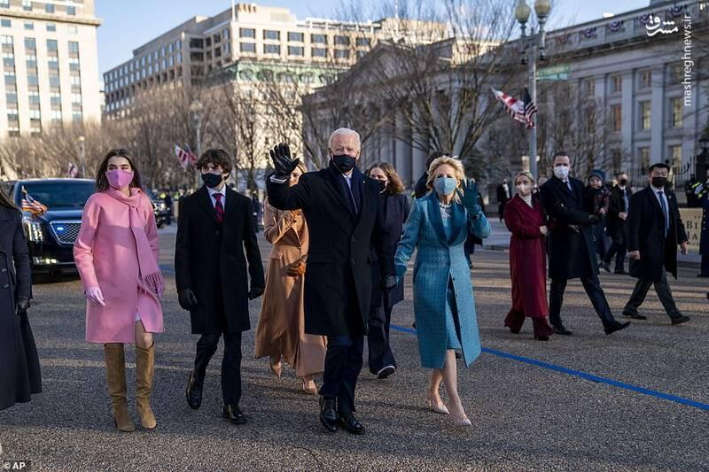 همراهی خانواده بایدن تا ورود به کاخ سفید