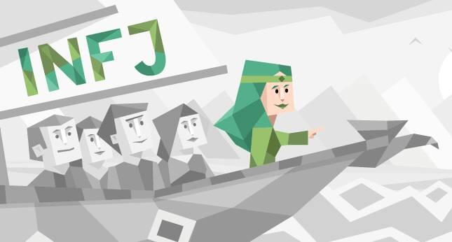 ۱۰ راز تیپ شخصیتی INFJ, کمیابترین تیپ شخصیتی جهان