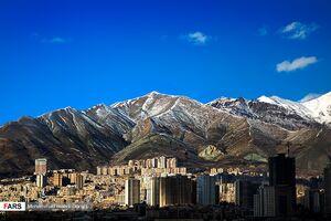 عکس/ اولین هوای پاک زمستانی در تهران
