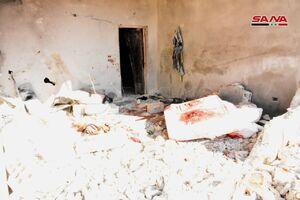 عکس/ حمله جنایتبار رژیم صهیونیستی به شهر «حماه»