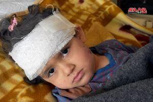 عکس/ مجروحان حمله هوایی رژیم صهیونیستی به «حماه»