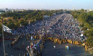 عکس/ تظاهراتی میلیونی پاکستانیها در حمایت از فلسطین
