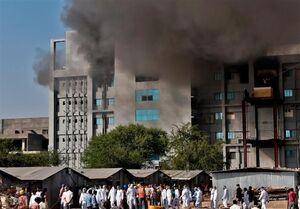 آتشسوزی در بزرگترین کارخانه تولید واکسن