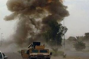 انفجار یک بمب در غرب بغداد