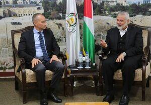 فلسطین رایزنی هنیه با نماینده سازمان ملل