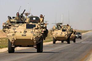 ششمین کاروان نظامی آمریکا در عراق مورد هدف قرار گرفت - کراپشده