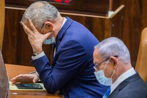 هشدار گانتز به نتانیاهو - کراپشده