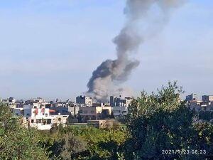 عکس/ انفجار در غزه