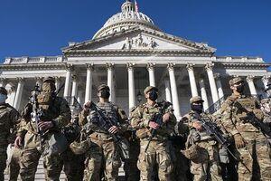 پایتخت آمریکا در قُرُق نظامیان «گارد ملی»