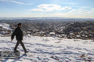 عکس/ حال خوب تبریزیها در هوای برفی