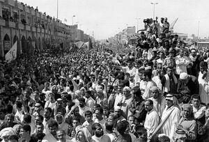 جنایت رژیم بعث و شهادت زوار کربلا در پیادهروی اربعین