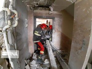 انفجار گاز در کرج