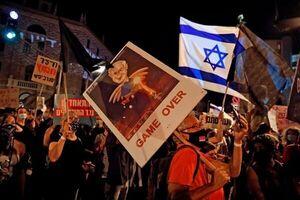 سیویکیمین هفته اعتراضات علیه نتانیاهو برگزار شد