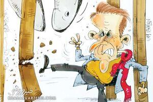 کاریکاتور/ گلمحمدی هیئتمدیره را راحت نمیگذارد!