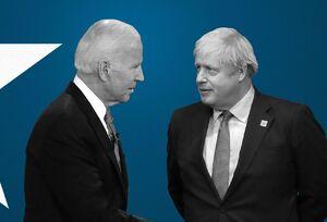 بایدن و جانسون درباره ایران، روسیه و چین صحبت کردند