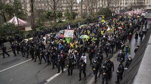 عکس/ اعتراضات فرانسویها علیه بیکاری