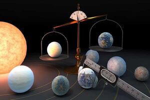 شناسایی ۷ سیاره مشابه زمین در منظومه شمسی