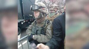 یک نظامی پیشن آمریکا به اتهام حمله به کنگره دستگیر شد