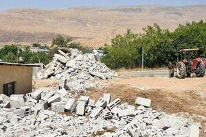 تخریب 869 باب منزل مسکونی شهروندان فلسطینی از سوی اشغالگران صهیونیست - کراپشده